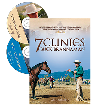 7 Clinics with Buck Brannaman - Discs 1 & 2 Groundwork